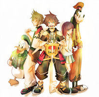 Kingdom Hearts by MrSkyScrapper