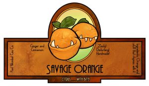 Savage Orange Soap by ursulav