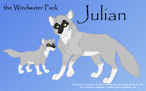 Julian Reference Sheet by AshWolf-Forever
