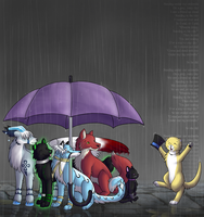 Our Big Umbrella... by Inkshadow