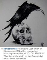 Quoth the Raven Wesker by HisWeskerness