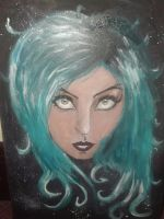 Lady Gaga A2 canvas by LiamShaw