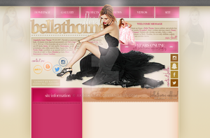 Layout with Bella Thorne by aktakatka