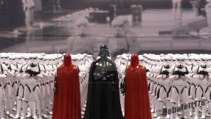 Vader, Imperial Guards and Stormtroopers by Bobafett176
