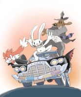 Review Sam and Max Season 1 e 2 by Zenox-furry-man