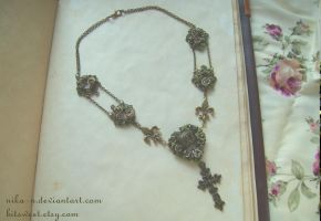 Royal Rose necklace I by Nika-N
