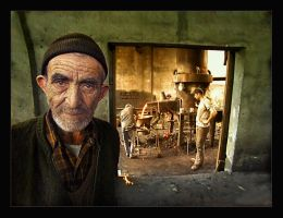 steel worker... by salihguler