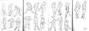 Daily #12 - Bridgman Figure Studies by Tokoldi