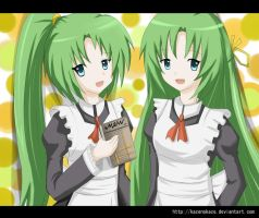 AT : Mion X Shion by Kazenokaze