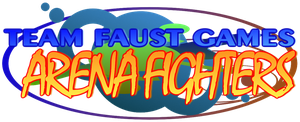 Team Faust Games Arena Fighters - Final Logo by TeamFaustGames