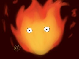 Calcifer by woostersauce