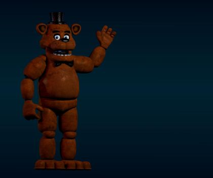 Easter_Bonnie's Freddy by Vickolous