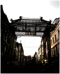 Gates of Chinatown by Lu-Xin
