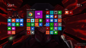 Win 8.1.preview - June 2013 by SuprVillain