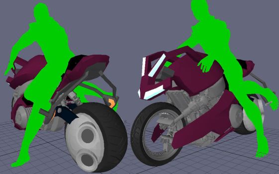 WIP :: uBike modeling07 by wh6b