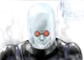 Batman Rogues - Mr Freeze by thedarkcloak