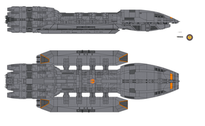 Battlestar Atlantia by airsoftfarmer