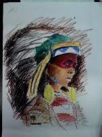 American indian - Test 1 by CaterinaOrlando
