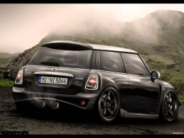 Mini Cooper Black Pearl by EvolveKonceptz