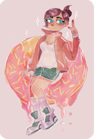 the doughnut princess by machine-pancake