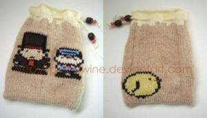 Professor Layton pouch by prismtwine