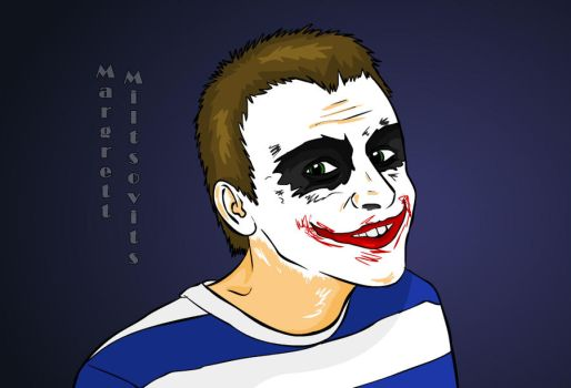 Michael - The Jocker by MargeMiltsovits