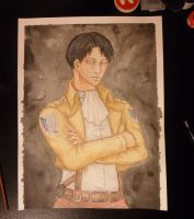 Corporal Levi by Yuitaz