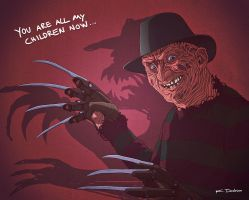 Here's Freddy! (Rediscovered oldie from 2010) by dem0n-be