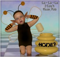 Buzzy Bee - 02 by Art-by-Lully