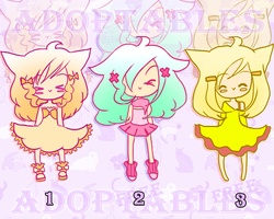 Adoptables #9 - CLOSED by Buumie