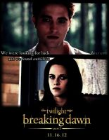 breaking dawn part 2 poster Bella and Edward by Tokimemota