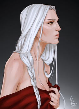 Manon Blackbeak by Merwild