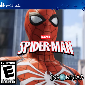 Spider-Man PS4  Cover Fan Made by TylerCluberlang