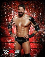 WWE 2K16 Bad News Barrett Character Art by ThexRealxBanks