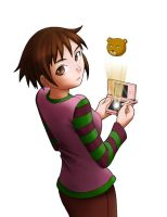 Lain_3DS by IndustrialComics