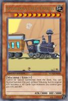 Appleloosa Earth Express (MLP): Yu-Gi-Oh! Card by PopPixieRex