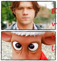 Reindeer vs. Sam by thekatherineb