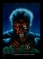 Famous Zombies Wolfman by billytackett