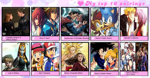 Top 10 Shippings. by WOLFBLADE111