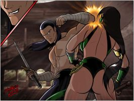 Jade vs Vargas 2 by TheInsaneDarkOne