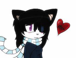 Kandi the Winter Cat(REQUEST/GIFT) for my cuz! by IceIcleTH