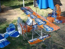 Sunkist Can Airplane by stephuhnoids