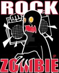 Rock Zombie by ghostexiled