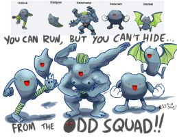 Odd Squad by ronnieraccoon