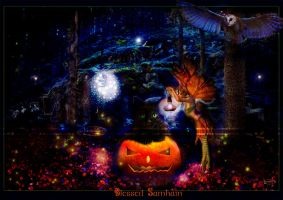 Blessed Samhain by Nameda