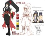 Unsealed Kira Battle Outfit by Caim-The-Order