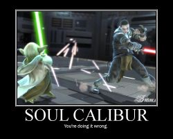 soulcalibur IV motivational by airdjinn