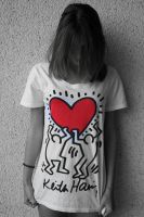 Keith Haring shirt. by ValentinaF