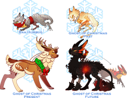 A Christmas Carol Collab Auction (CLOSED) by Lilwolfpard