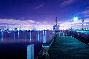Night: Williamstown 2 by DanielleMiner